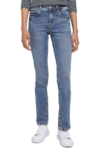 "TOM TAILOR Straight-Jeans, in gerader ""Straight"" 5-Pocket-Form kaufen"