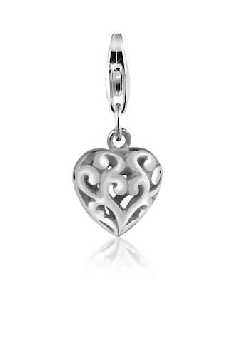 Nenalina Charm-Einhänger »Herz Ornament Anhänger Love liebe 925 Silber« kaufen