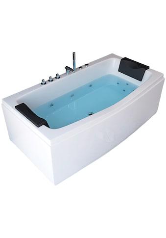 "HOME DELUXE Whirlpool - Badewanne ""Noor"" (3 - tlg.) kaufen"