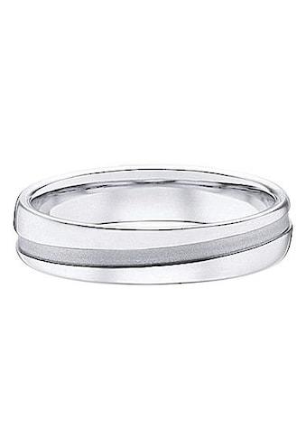 Firetti Trauring mit Gravur »glanz, sandmatt, Diamantschnitt, 5,0 mm breit«, wahlweise... kaufen