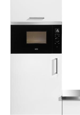 AEG Einbau-Mikrowelle »MBB1756SEM«, Mikrowelle, 800 W, Touch-Bedienung kaufen