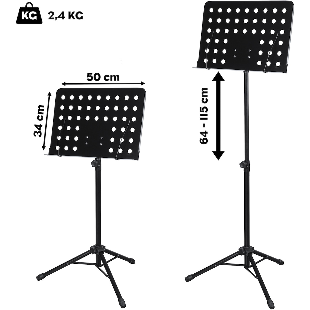 Cascha Notenpult »Orchesterpult«