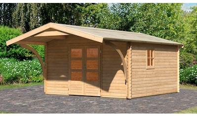 Karibu Gartenhaus »Meldorf 6«, mit Vordach kaufen