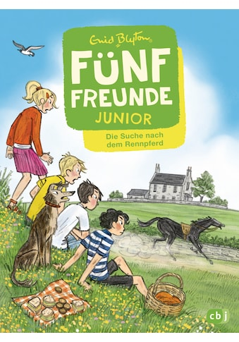 Buch »Fünf Freunde JUNIOR - Die Suche nach dem Rennpferd / Enid Blyton, Gerda Raidt« kaufen