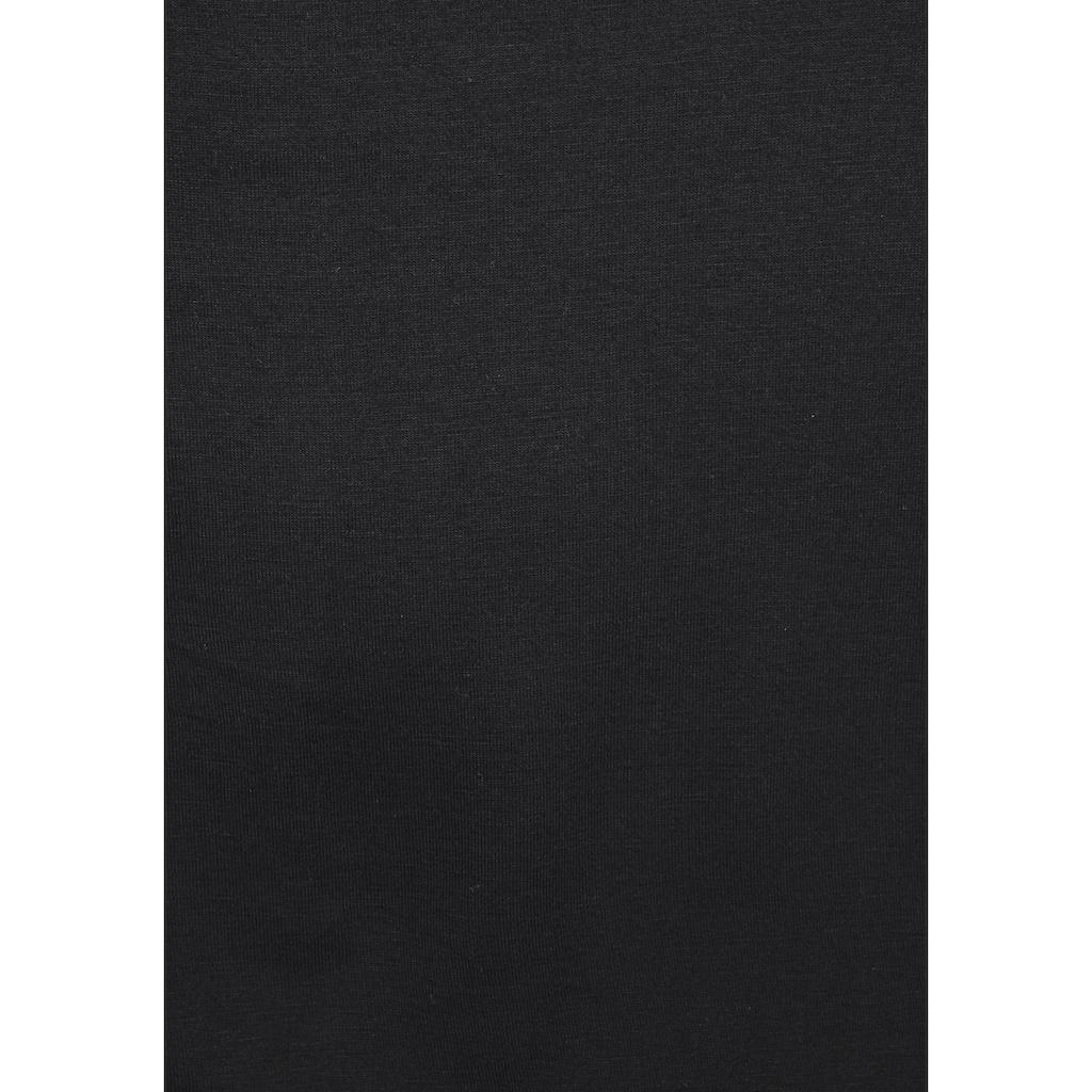 LASCANA Strandshirt, mit Häkeleinsatz am Rücken