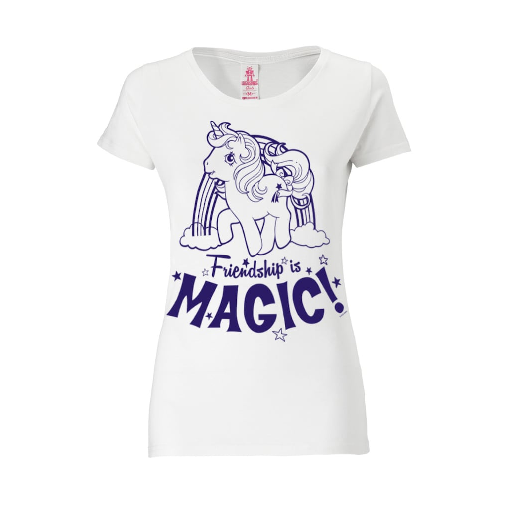LOGOSHIRT T-Shirt mit großem Frontdruck
