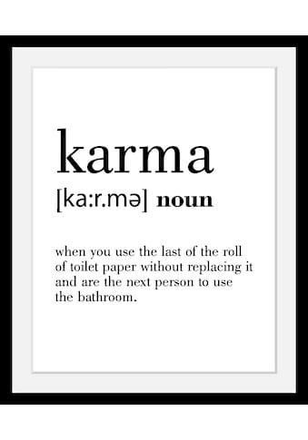 queence Bild »Karma« kaufen