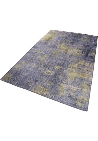 Wecon home Teppich »Night Hour«, rechteckig, 6 mm Höhe, Chenille Baumwolle, Wohnzimmer kaufen