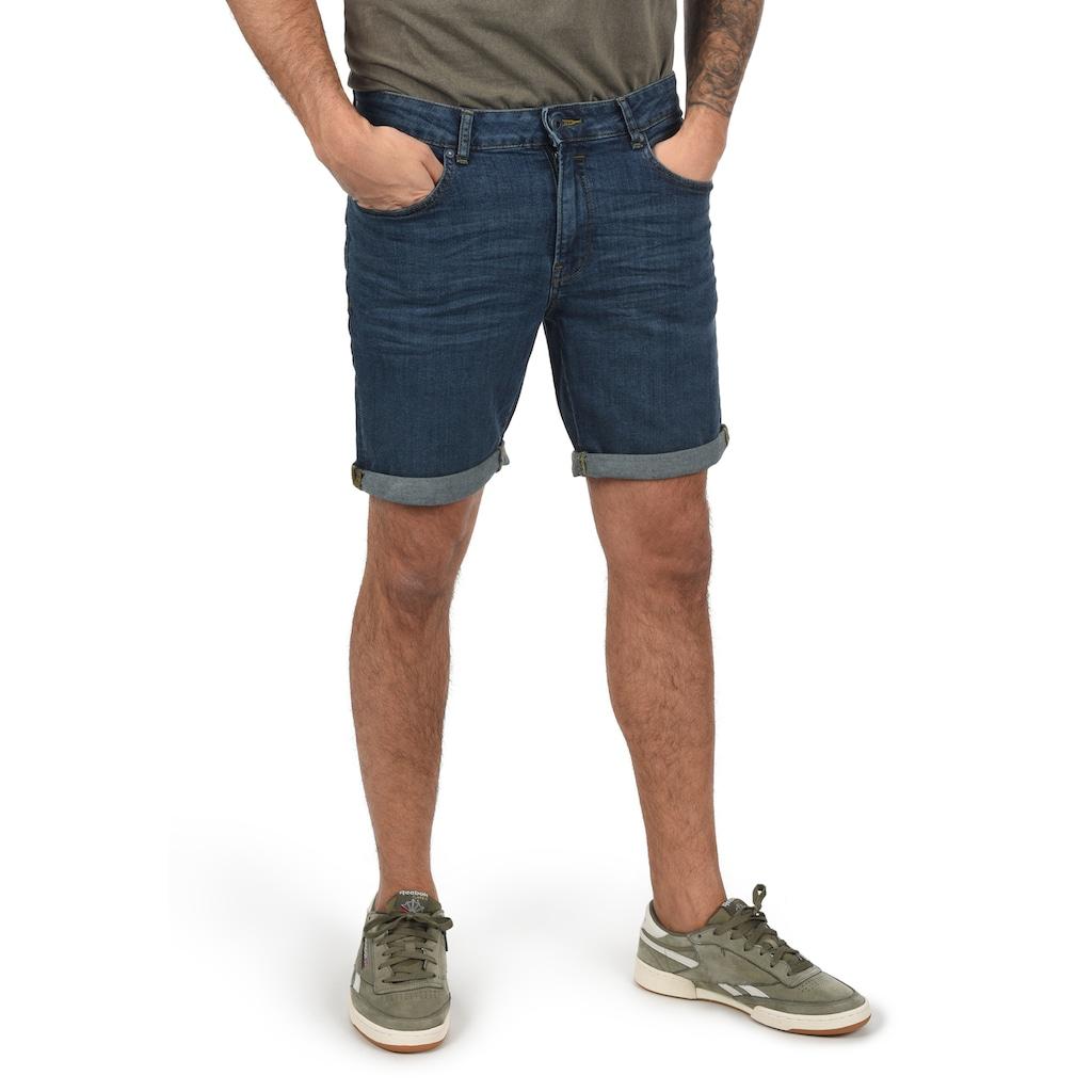 Solid Jeansshorts »21104053«, lange Jeanshose