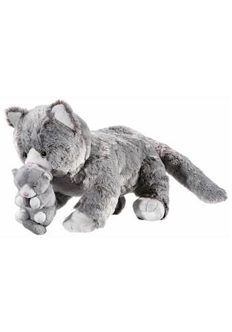 """Heunec® Kuscheltier """"Natureline Softissimo Katze mit Baby"""" kaufen"""