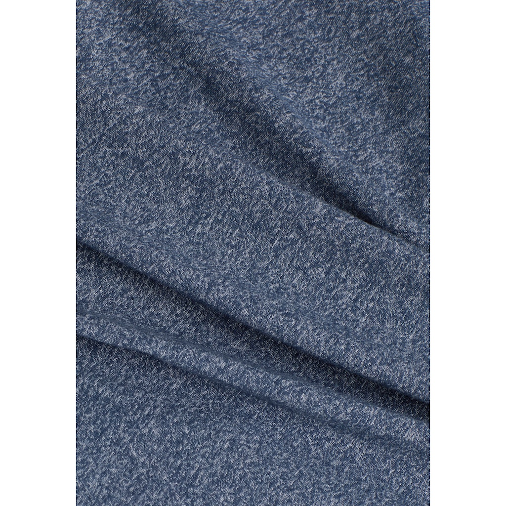 edc by Esprit T-Shirt, in melierter Optik
