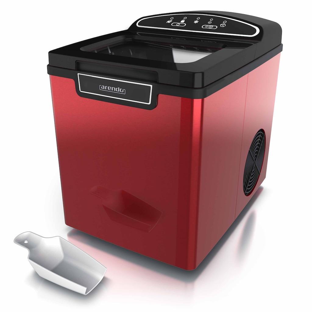 Arendo Eiswürfelmaschine »Eiswürfelbereiter - 9 Eiswürfel in 8 Minuten«, 105 W – 1,8 Liter