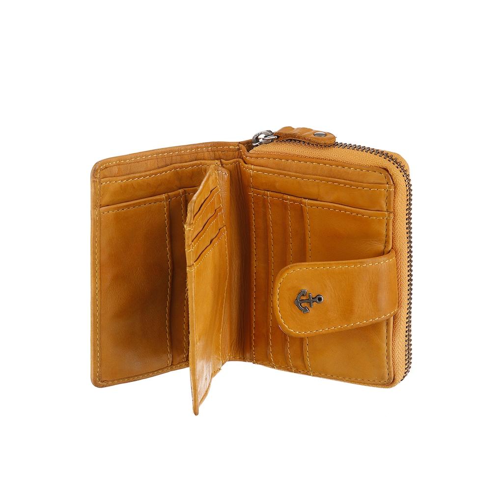 HARBOUR 2nd Geldbörse »Isidora«, Aus griffigem Leder mit typischen Marken-Anker-Label
