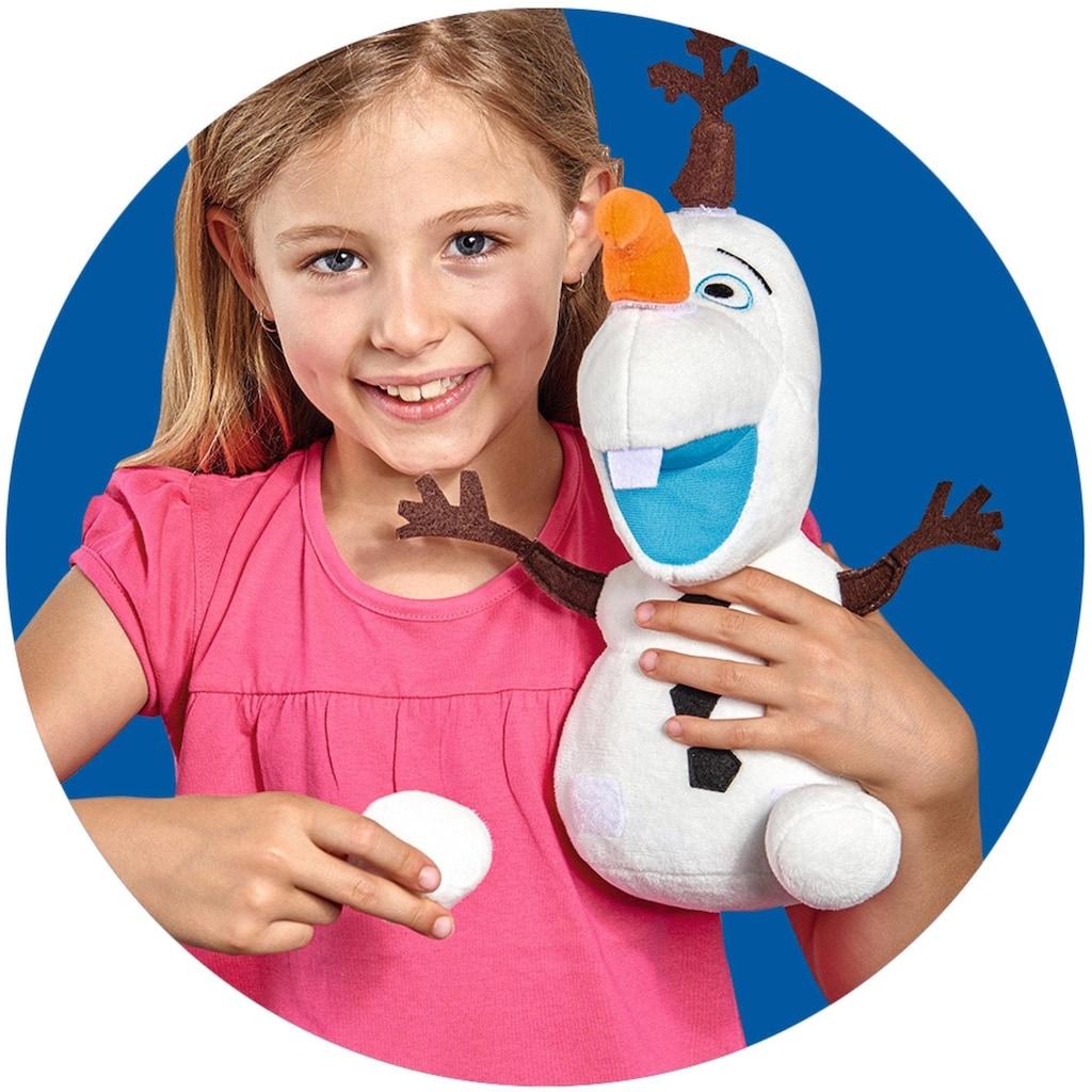 SIMBA Plüschfigur »Disney Frozen 2, Activity Olaf, 30 cm«