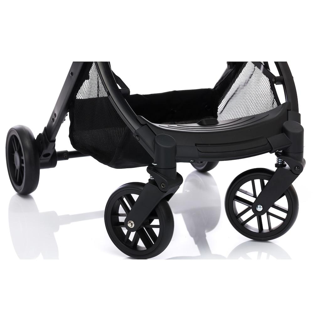 Fillikid Sport-Kinderwagen »Styler, hellgrau melange«, mit Trolleygriff; Kinderwagen, Buggy, Sportwagen, Kinder-Buggy, Kinderbuggy