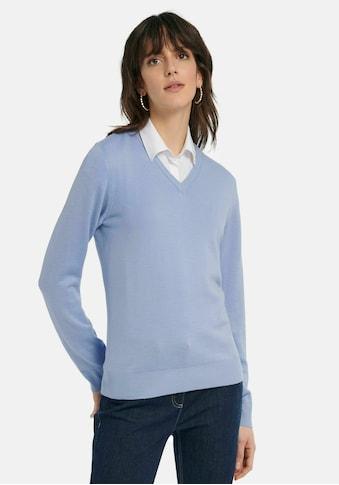 Peter Hahn Strickpullover »V-Pullover aus 100% Schurwolle Pure Tasmanian Wool«, . kaufen