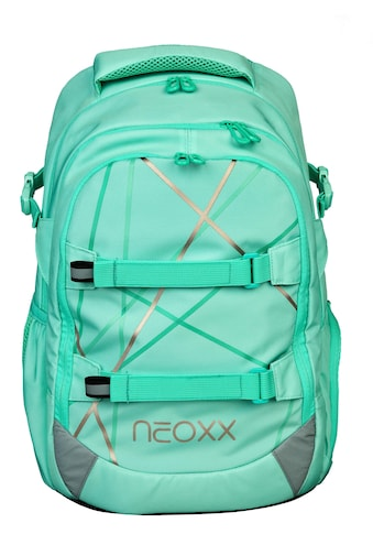 neoxx Schulrucksack »Active, Mint to be«, aus recycelten PET-Flaschen kaufen