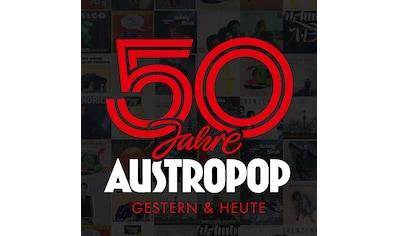 Musik-CD »50 Jahre Austropop-Gestern & Heute / Diverse Pop« kaufen