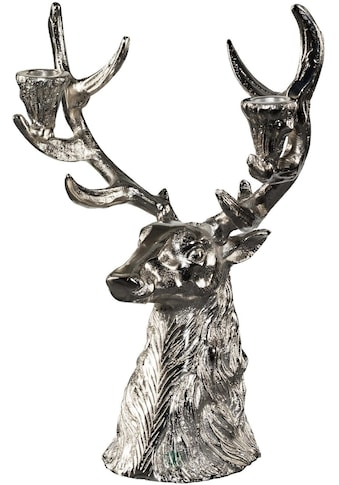 Kerzenhalter »Hirschkopf« (1 Stück) kaufen