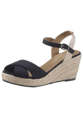 TOM TAILOR Sandalette, in schilchtem Design kaufen