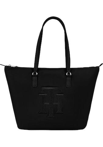 Tommy Hilfiger Shopper »POPPY TOTE TH«, mit großem TH Logodruck kaufen