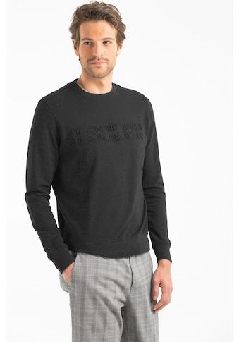 Lufian Sweatshirt »Taran«, mit gestanztem Logo und Rippbündchen kaufen
