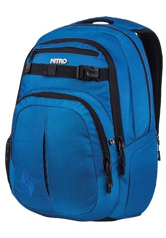 NITRO Schulrucksack »Chase Blur brilliant blue« kaufen
