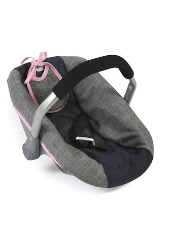 CHIC2000 Puppen Autositz »Grau-Navy« kaufen
