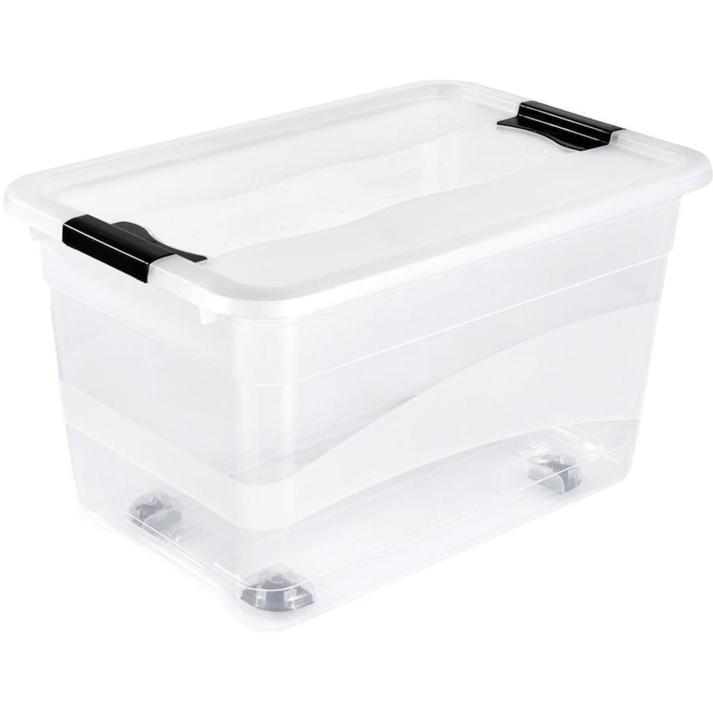 keeeper Aufbewahrungsbox »konrad«, (Set, 2 St.), mit Rollen