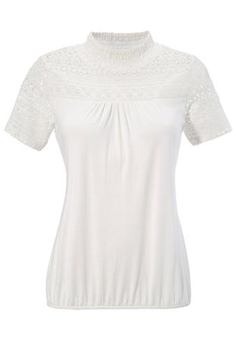 Hangowear Trachtenshirt »Wedis«, Damen, mit besonderen Spitzenelementen kaufen