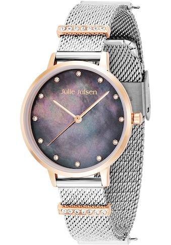 Julie Julsen Quarzuhr »Charming Dark Pearl Bicolor, JJW1231RGSME-34-2« kaufen