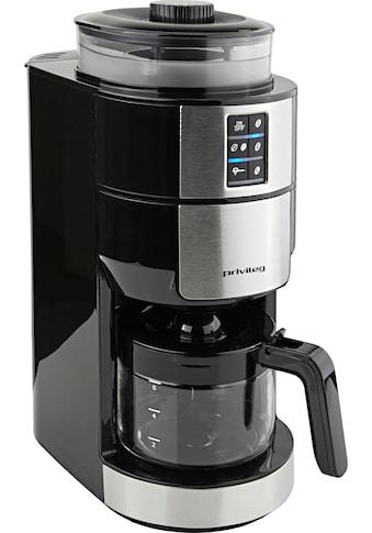 Privileg Kaffeemaschine mit Mahlwerk »für 6 Tassen«, Papierfilter kaufen