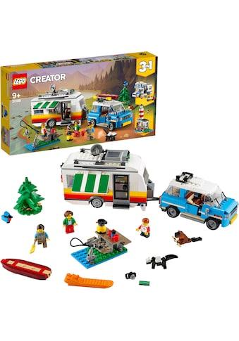LEGO® Konstruktionsspielsteine »Campingurlaub (31108), LEGO® Creator«, (766 St.), Made... kaufen