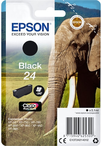 Epson Tintenpatrone »Tinte Singlepack Black 24« kaufen