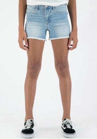 Garcia Jeansshorts »513 | Rianna short Slim«, mit kurzen Fransen am Saum kaufen