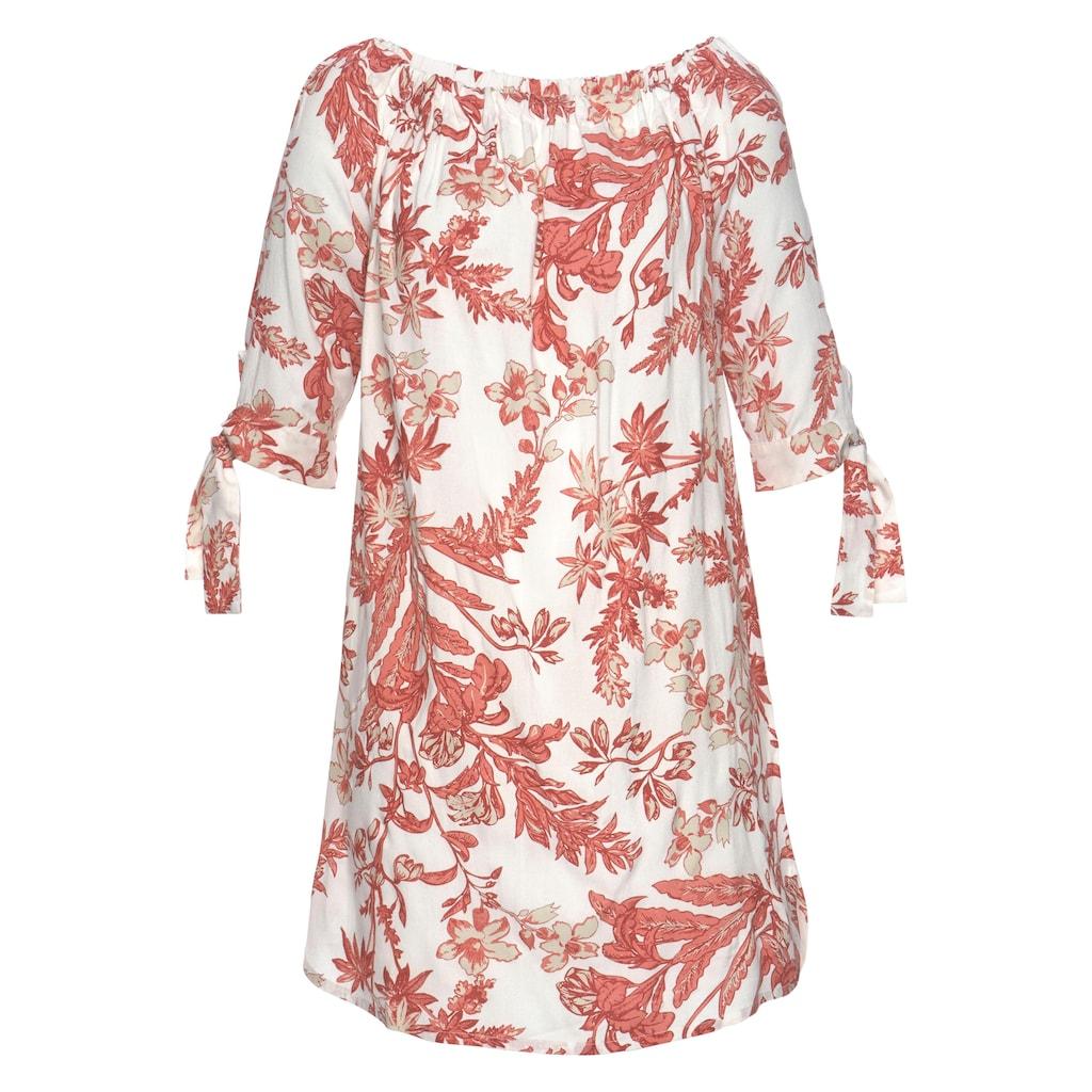 LASCANA Blusenkleid, mit floralem Druck