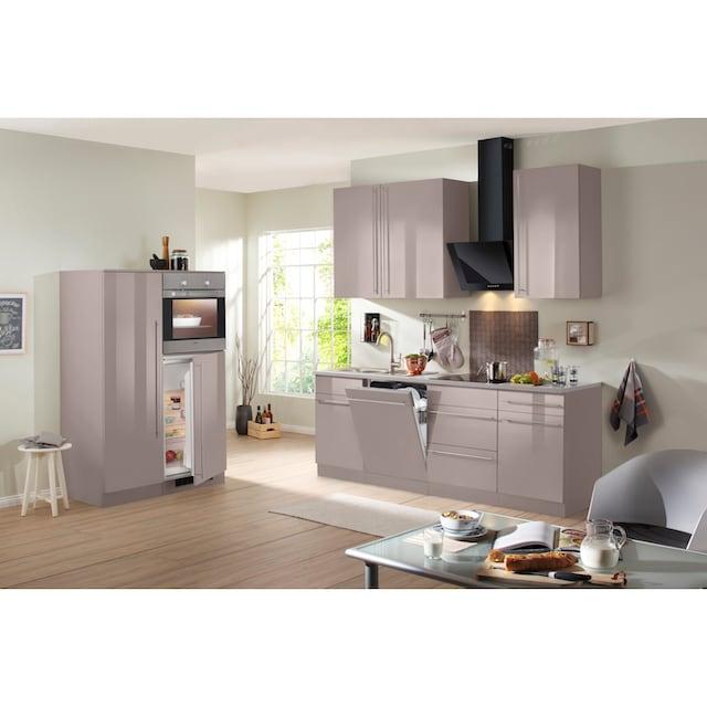 wiho Küchen Küchenzeile »Chicago«, mit E-Geräten, Gesamtbreite 330 cm