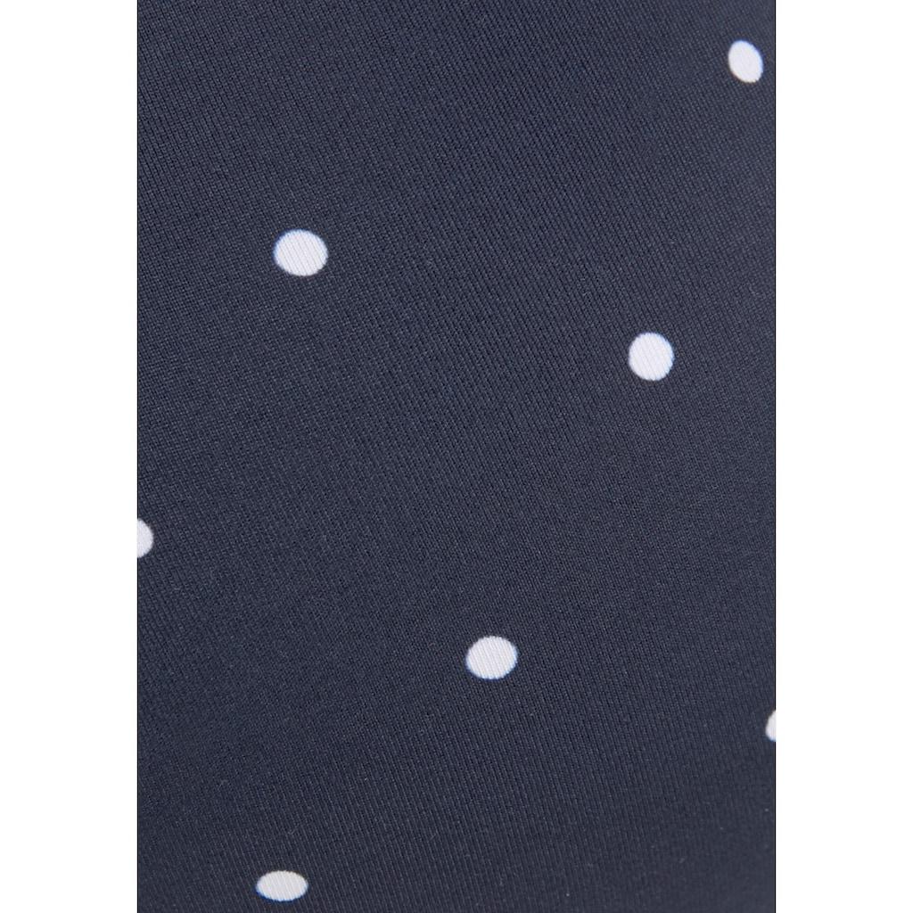 LASCANA Push-Up-Bikini-Top »Sparkel«, mit kleinen Tupfen