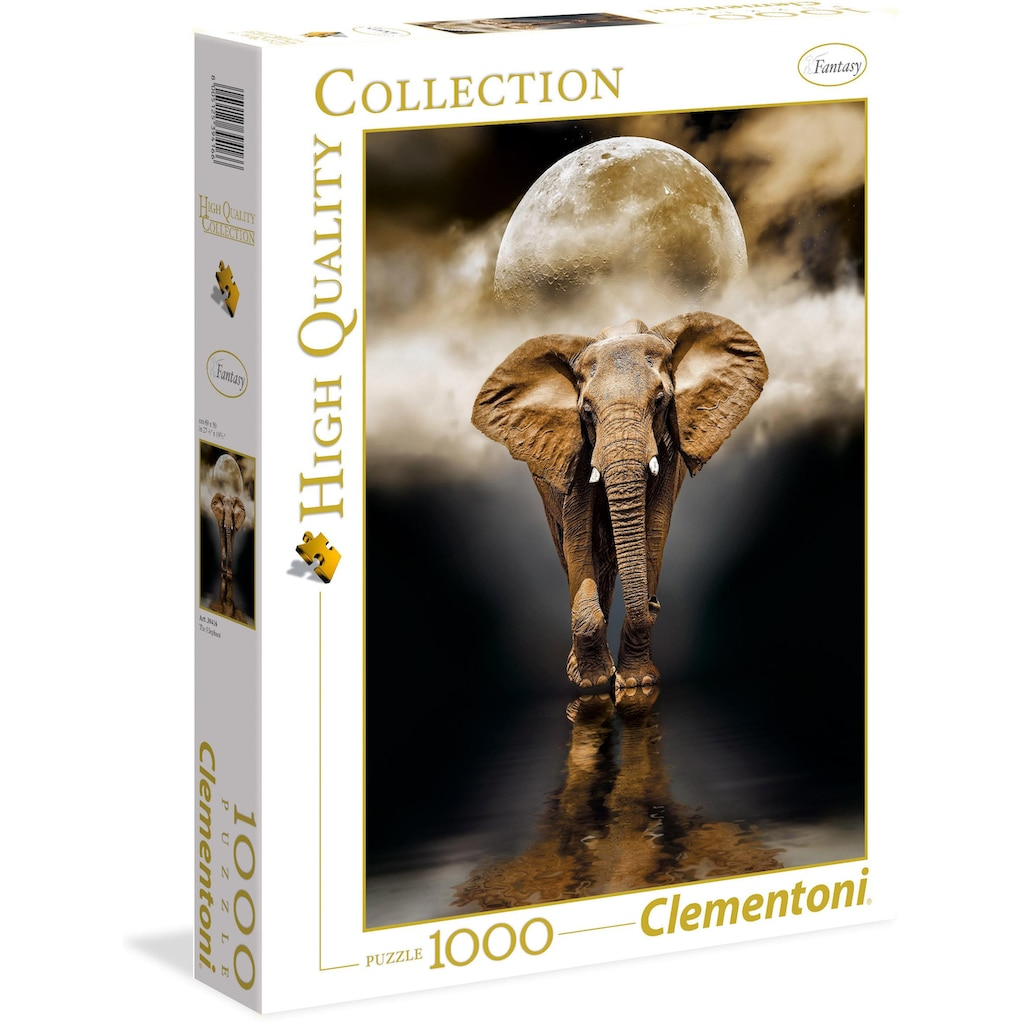 Clementoni® Puzzle »High Quality Collection - Der Elefant«, Made in Europe