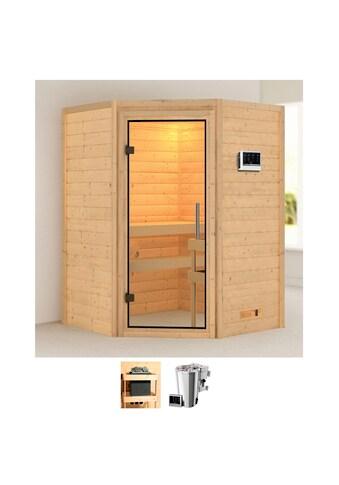 Karibu Sauna »Agneta«, 3,6-kW-Bio-Plug & Play Ofen mit externer Steuerung kaufen