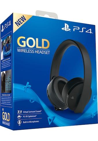 PlayStation 4 »Gold« Wireless - Headset kaufen