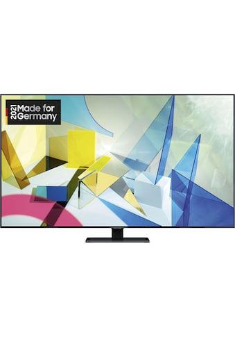 """Samsung QLED-Fernseher »GQ65Q80TGT«, 163 cm/65 """", 4K Ultra HD, Smart-TV kaufen"""
