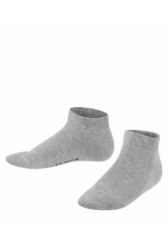 FALKE Sneakersocken »Family«, (1 Paar), aus hautfreundlicher Baumwolle kaufen