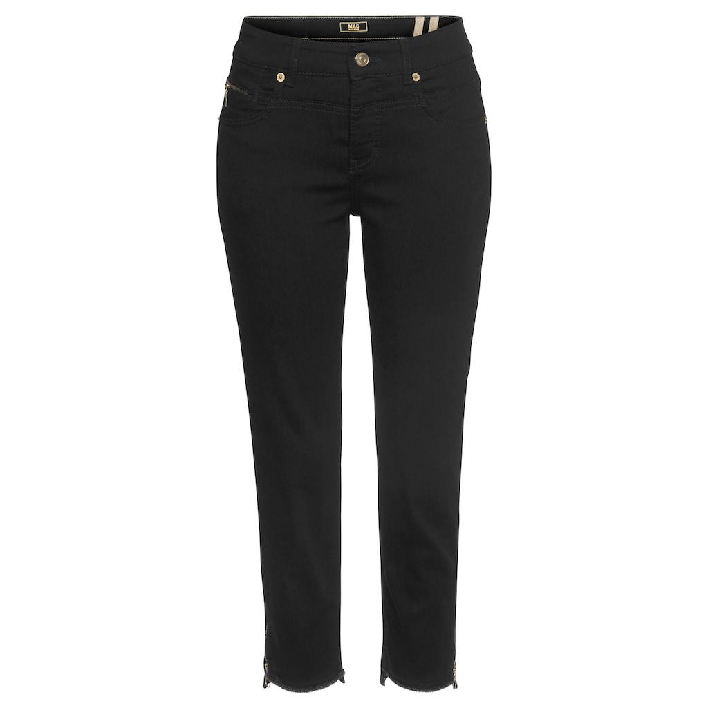 MAC Ankle-Jeans »Rich-Slim Chic«, Hinten etwas länger als vorne geschnitten