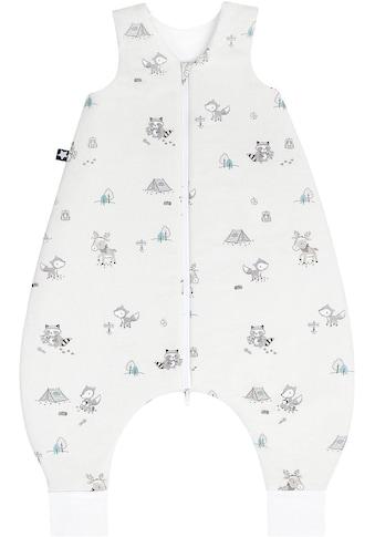 Julius Zöllner Babyschlafsack, mit Beinen Jersey Jumper Fuchs & Elch kaufen