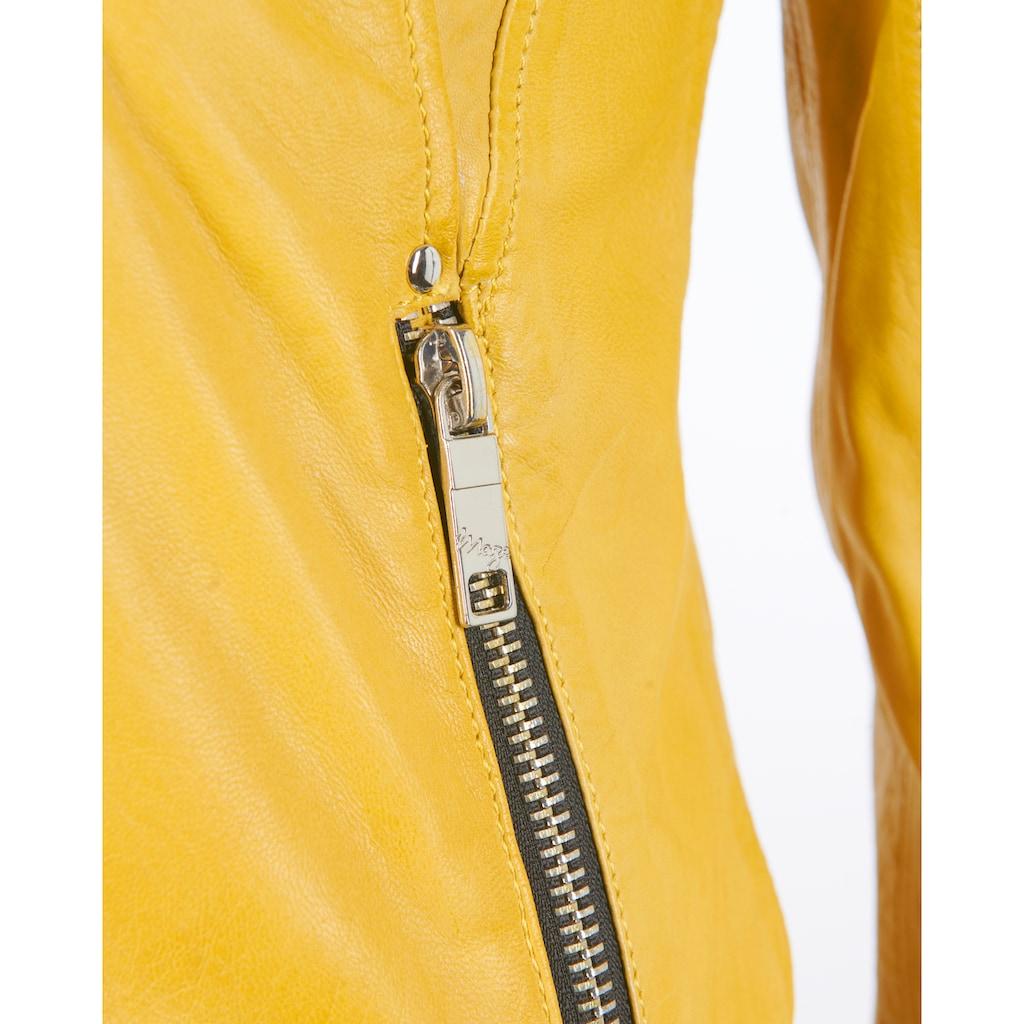 Maze Lederjacke mit asymmetrischem Reißverschluss