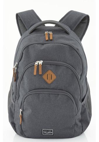 travelite Cityrucksack »Basics Melange, anthrazit« kaufen