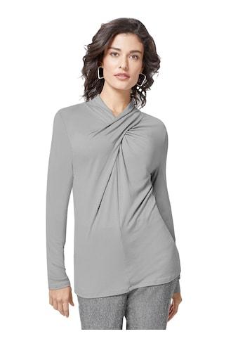 Creation L Shirt mit schmückenden Raffungen kaufen