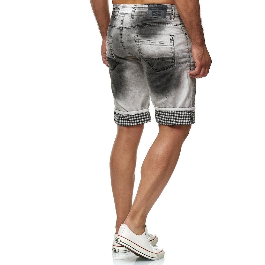 Rusty Neal Shorts in verwaschener Optik