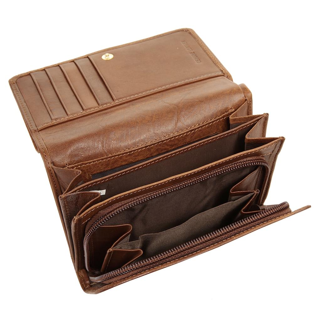 Piké Geldbörse, Kreditkartenfächer